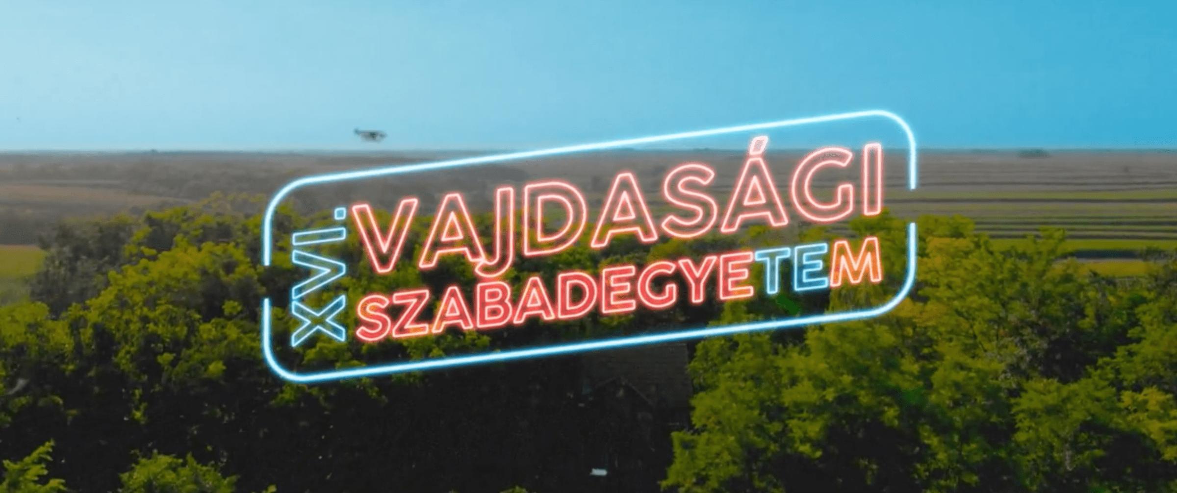 SZABADEGYETEM 2018 – VLOGOK